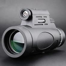 Professional 12x50 Monocular Telescope Military HD Night Vision Outdoor Hunting Clmbing Watching Birds Waterproof Outdoor Tools