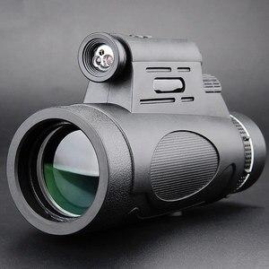 Image 1 - Télescope monoculaire professionnel, Vision nocturne, pour lobservation des oiseaux, accessoires dextérieur étanches, 12x50