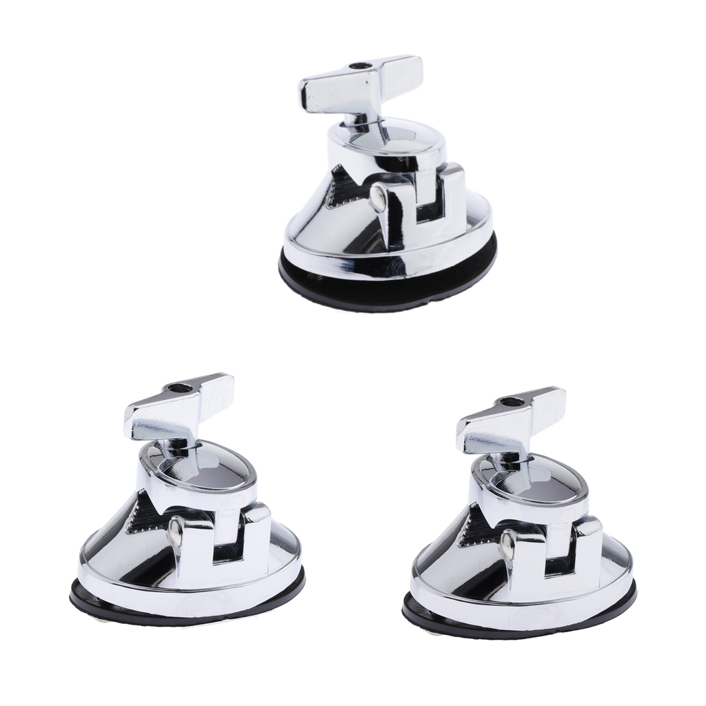 Pack Of 3 Tom Drum Kit Mount Bracket Floor Tom Leg Clamp Holder Instrument Parts
