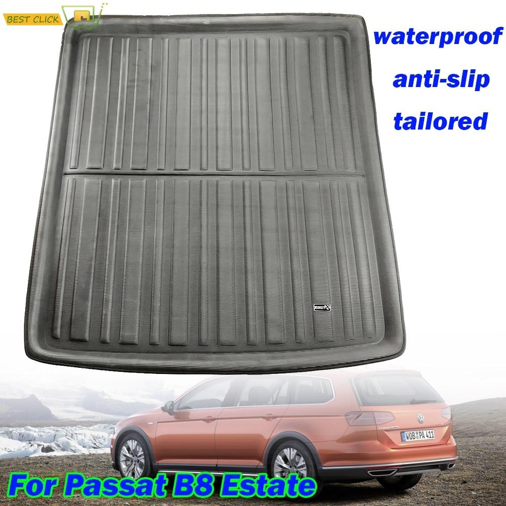 Volkswagen Passat Estate B6 2005-2010 Rear Boot Carpet Floor
