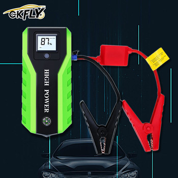 GKFLY 1000A Portable Car Jump Starter Jumpstart 20000mAh Power Bank Emergency Starting Device Car Emergency Booster Buster image