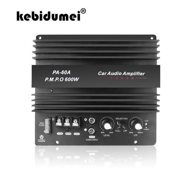 High Power 12V 600W Speaker Subwoofer Bass Module Car Audio Accessoires Mono Kanaal Duurzaam Lossless Diy Versterker Boord
