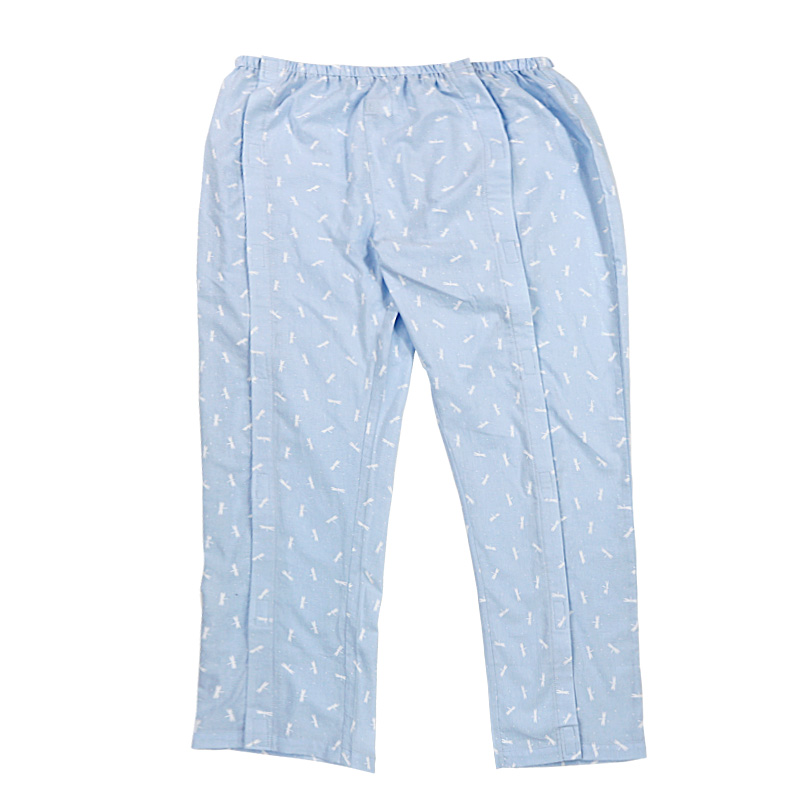Paralysis Bedridden Patient Care Clothing, Easy To Wear Off, Adult Incontinence Fracture Bedridden Nursing Pants Suited Hospital