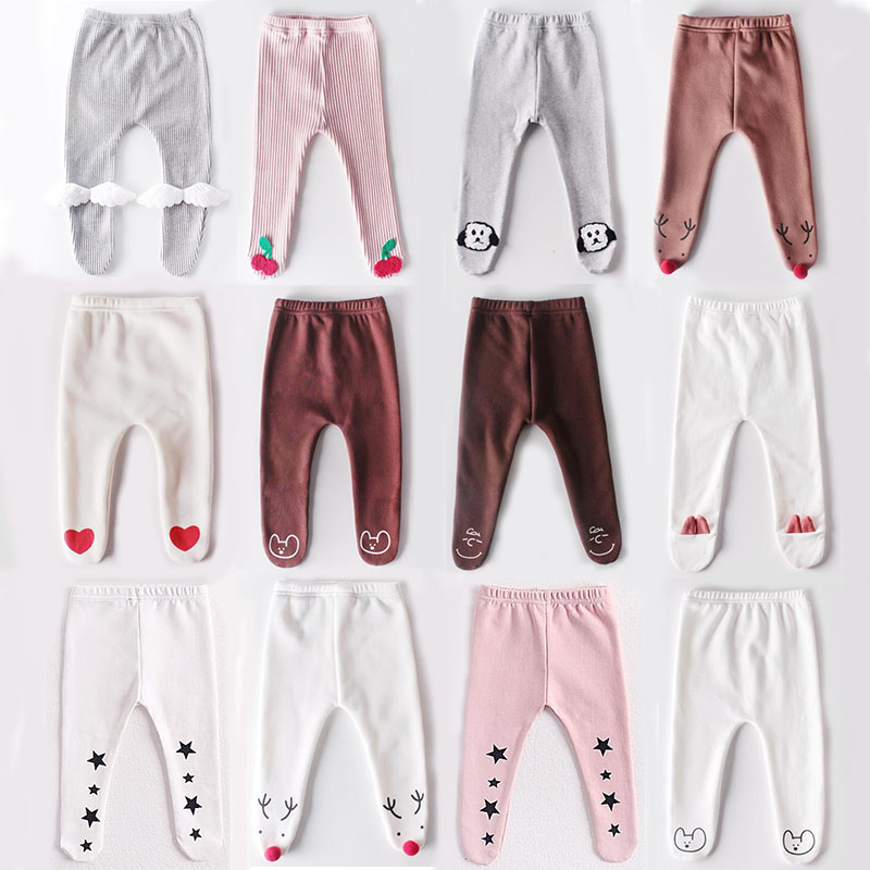 Baby Boys Girls Tights Knee High Solid Color Newborn Toddler Soft Pantyhose Pants Kids Casual Outfits Infantile