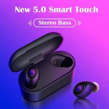 Bluetooth wireless headset sports HiFi earphone noise reduction headphones stereo waterproof