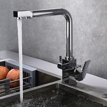 Смеситель для кухонной мойки вращение на 360 градусов