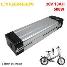 Electric-Bike-Battery 36v 10ah Charger 500W Silver with 42V 2A Free-Customs-Fee 10S