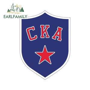 EARLFAMILY 13cm x 9.5cm for Saint Petersburg CKA lternate Logo Funny Car Stickers and Decals JDM Bumper Wall Decal Car Wrap(China)