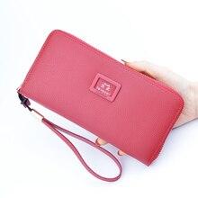 Wallet women long zipper multifunctional large capacity Korean version of the leather handbag ladies coin purse 2020 new mobile