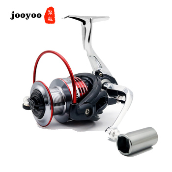 Alloy Metal Spool Spinning 5.0:1 Fishing Reel 13+1BB Wheel 3000 4000 Series Gear Ratio Knob Handle Right Left Hand Changeable
