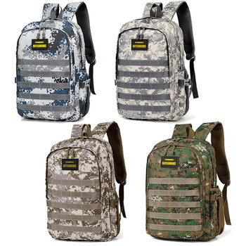 Jedi Survival Three-level Backpack Waterproof Climbing Bag Student Computer Package Camouflage Schoolbag 2