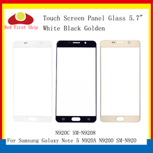 10Pcs/lot Touch Screen For Samsung Galaxy Note 5 Note5 N920A N9200 SM-N920 N920C Touch Panel Front Outer Note 5 LCD Glass Lens oem для samsung galaxy note5 sm n920 n920 объем кабель гибкого трубопровода кнопки для samsung galaxy note5 sm n920