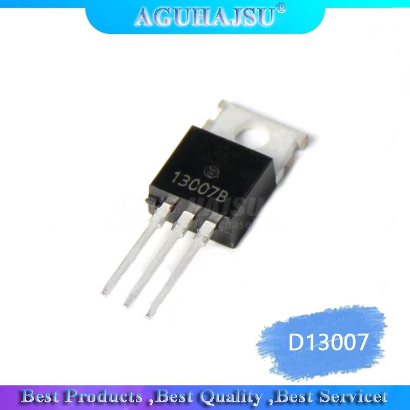 10PCS D13007K D13007 13007 TO-220 Brand new original switching power supply triode(China)