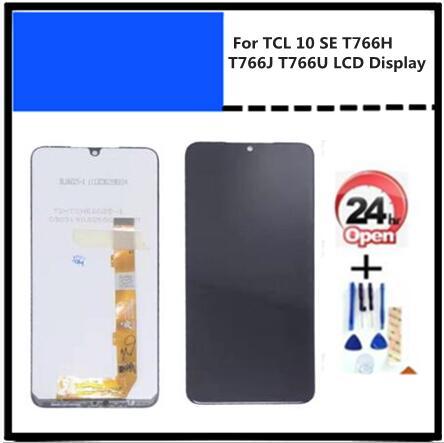Оригинальный ЖК-дисплей для TCL 10 SE T766H T766J T766U + фотографический черный цвет