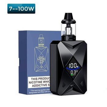 SUB TWO – Kit de Cigarette électronique Original M6, 100W, avec 4ml, atomiseur, batterie 2600mah, vaporisateur, énorme désactivation de fumée