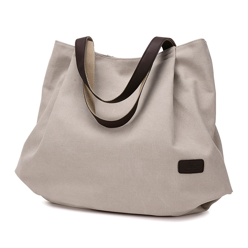 Canvas Tote Bag for Women School Work Travel and Shopping 1