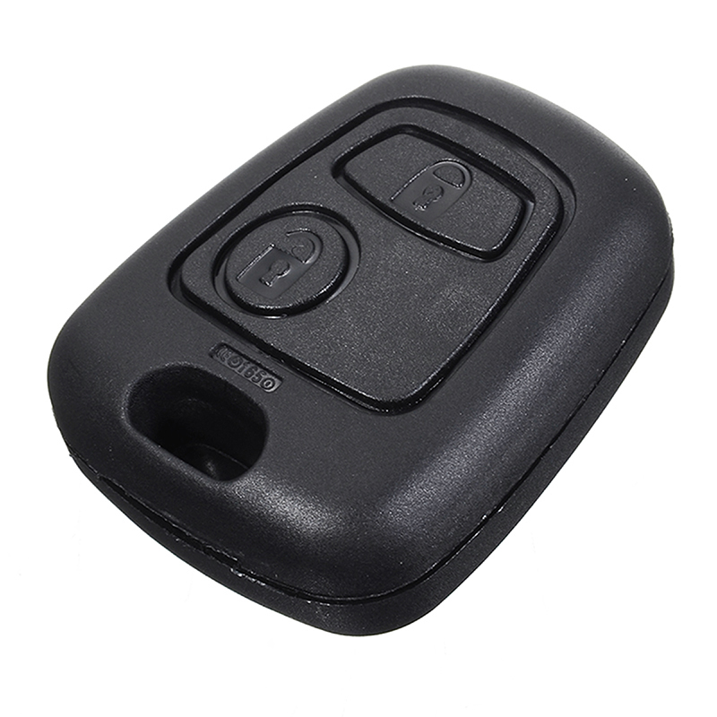 Auto Car 2 Button <font><b>Remote</b></font> Control <font><b>Key</b></font> Fob Case Shell For <font><b>Peugeot</b></font> 107 207 307 407 106 206 306 <font><b>406</b></font> No blade No logo image