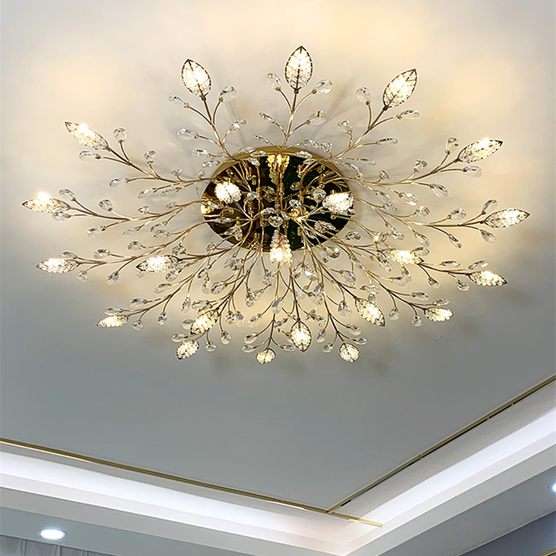 TRAZOS New item fancy ceiling light LED Crystal ceiling lamp modern lamps for living room lights Innrech Market.com