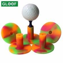 1 шт резиновые футболки для гольфа спортивные держатель прочный