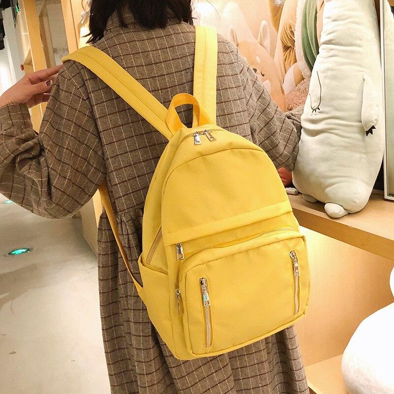 Image 3 - Fashion Backpack Women Backpack waterproof Students bookbag bagpack Large Capacity Shoulder Bag Multi pocket Backpack Women 2020Backpacks   -
