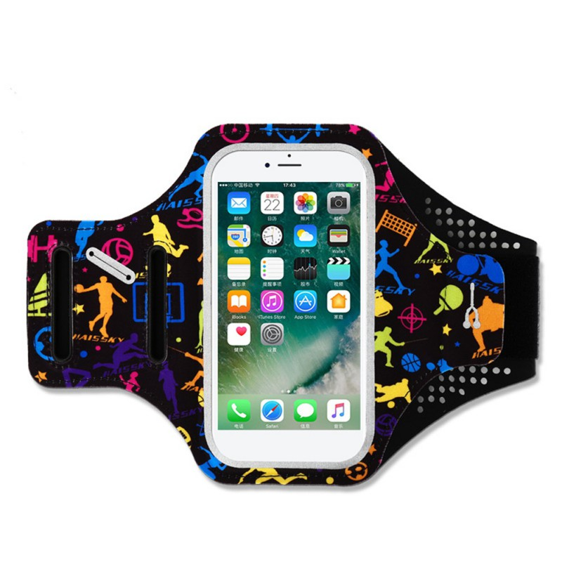 Mobile Phone Arm Bag Portable Cycling Running Arm Bag Waterproof Wrist Bag Men Women Outdoor Sport Accessory