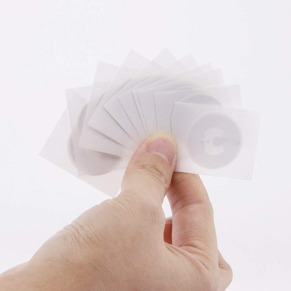 10pcs/Lot NTAG215 NFC Sticker For TagMo Forum Type2 NFC Stickers Labels Tag Ntag 215 RFID Tag NFC Tags