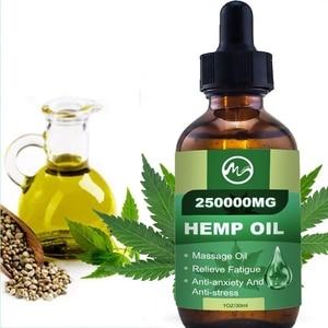 Minch 250000MG CBD Hemp Oil Pain Relief Skin Oil Anxiety Sleep Anti Inflammatory Extract Drops Hemp Seed Oil For Better Sleep