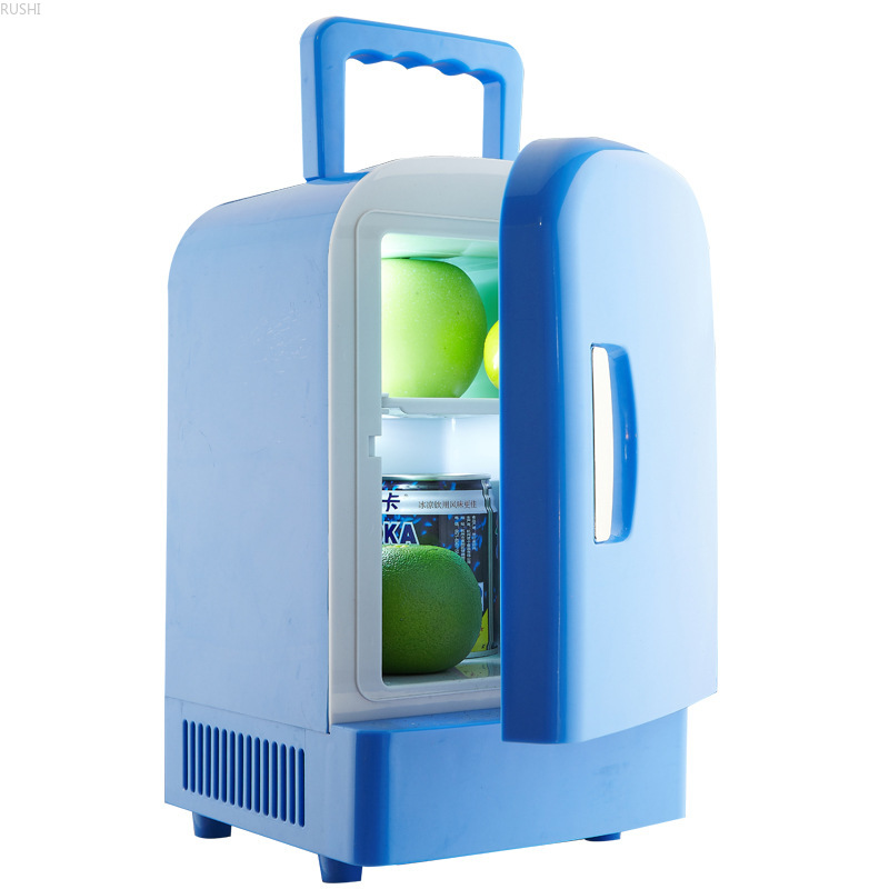Single Door  Car Refrigerator Portable Mini   Refrigerator Car Fridge  Refrigerator Refrigerators  12V  4L Mini Fridges Compact