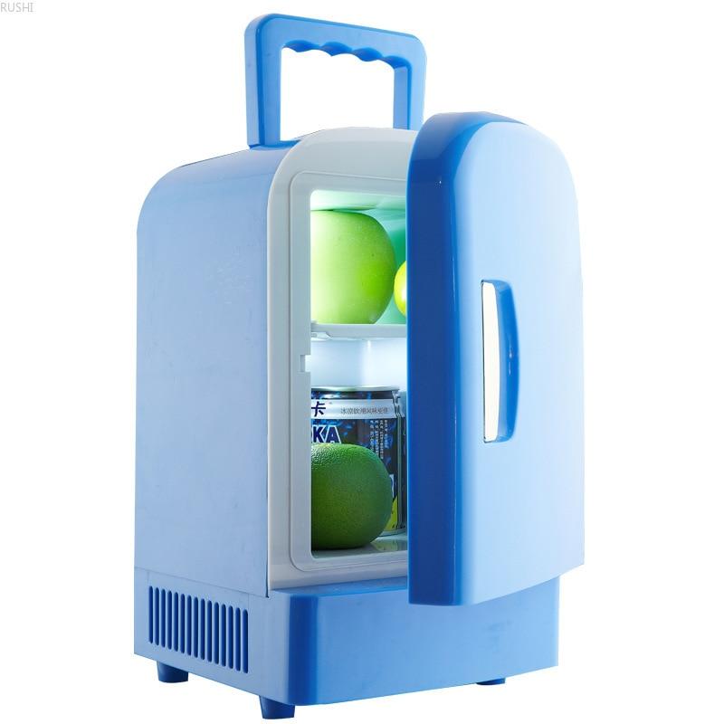 Single Door  Car Refrigerator Portable Mini   Refrigerator Car Fridge  Refrigerator Refrigerators  12V  4L Mini Fridges Compact