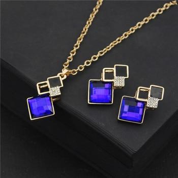 Fashion Crystal  Women's Jewelry Set  2
