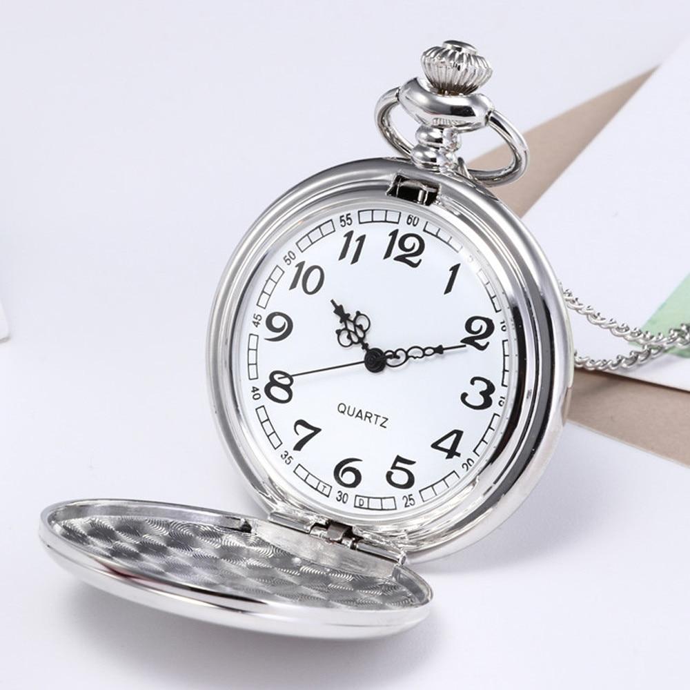 DUOBLA Men's Watches Dress Quartz Watch Luxury Bronze Chain Necklace Waterproof Brand Men Pocket Watch Relogio Masculino