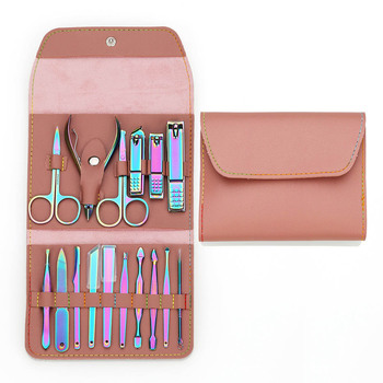 VIP LINK Manicure Set Stainless Nail Clippers Cuticle Utility Manicure Set Tools Nail Care Grooming Kit Nail Clipper Set 1
