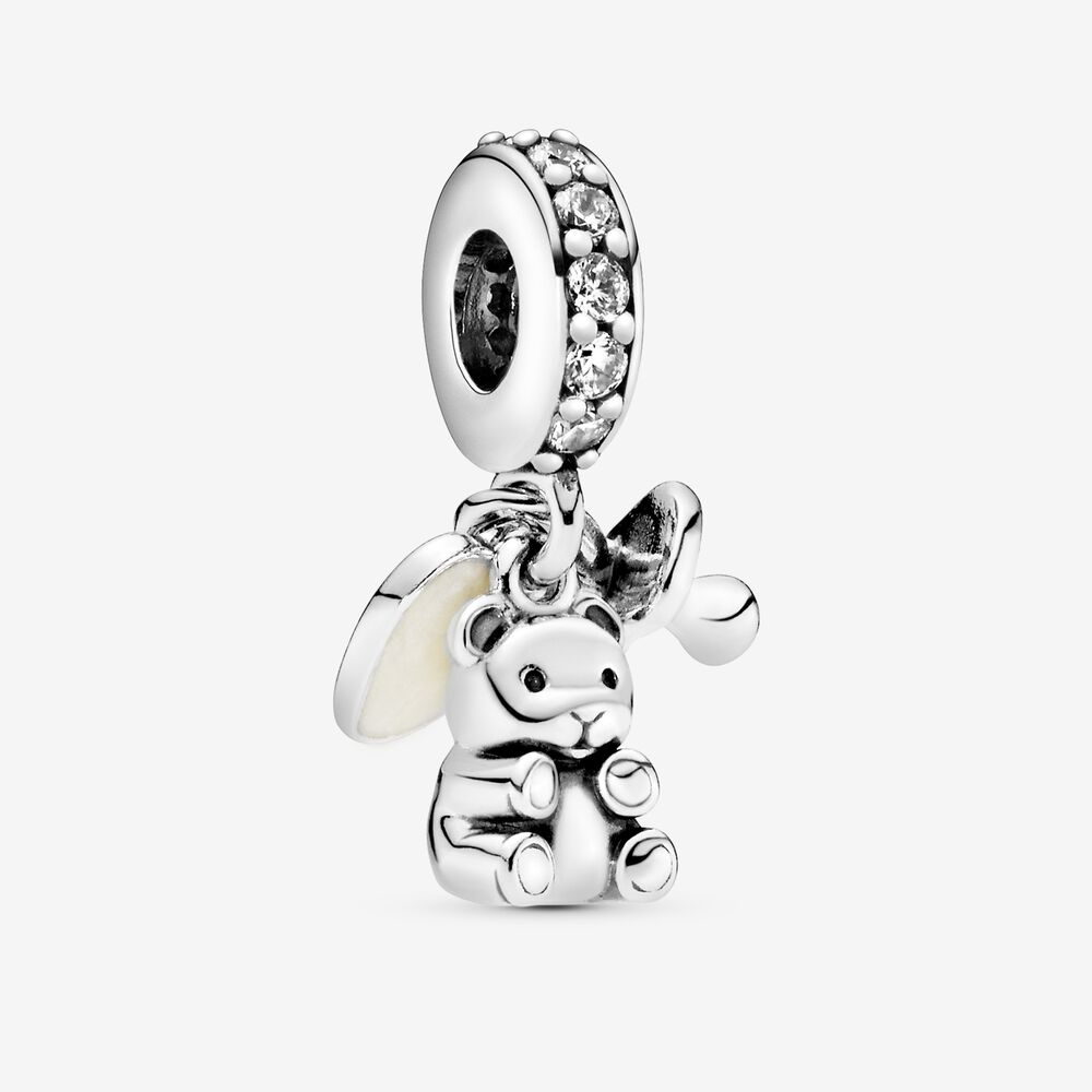 Baby Bear Dangle Charm Fits Pandora Bracelet 925 Sterling Silver Metal Beads For Jewelry Making Diy Gift Beads Aliexpress