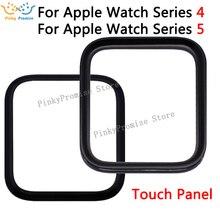 2 في 1 LCD الزجاج الأمامي ل أبل سلسلة ساعة 4 5 S4 S5 44 مللي متر 40 مللي متر شاشة اللمس الخارجي لوحة استبدال