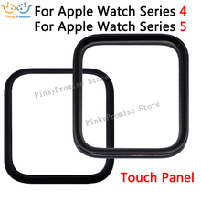 2 in 1 LCD Front Glass For Apple Watch Series 4 5 S4 S5 44mm 40mm Touch Screen Outer Panel Replacement