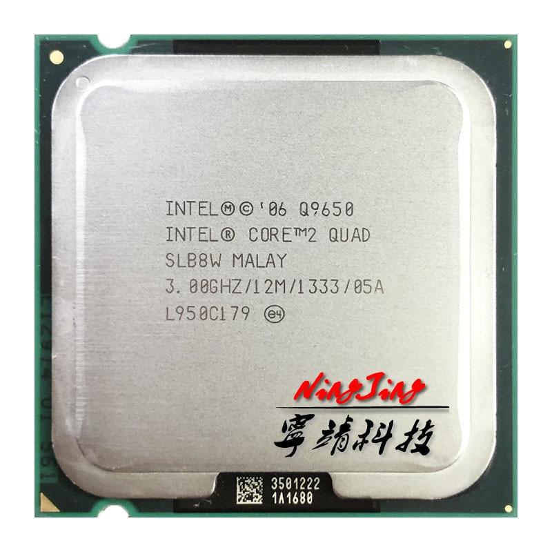 Процессор Intel Core 2 Quad Q9650 3,0 ГГц четырехъядерный четырехпоточный ЦПУ процессор 12 МБ 95 Вт LGA 775