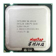 Процессор Intel Core 2 Quad Q9650 3,0 ГГц, четырехъядерный процессор 12M 95W LGA 775