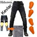 Ветрозащитные кевларовые плюс бархатные мотоциклетные повседневные мужские мотоциклетные защитные зимние теплые мотоциклетные джинсы
