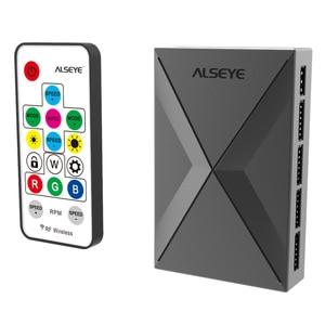 Image 5 - ALSEYE XTREME PC Fall DIY Wasser Coolling 360mm Einstellbare RGB ASUS Sync Gigabyte RGB FUSION Unterstützung LGA 115x/AM2/AM3/AM4