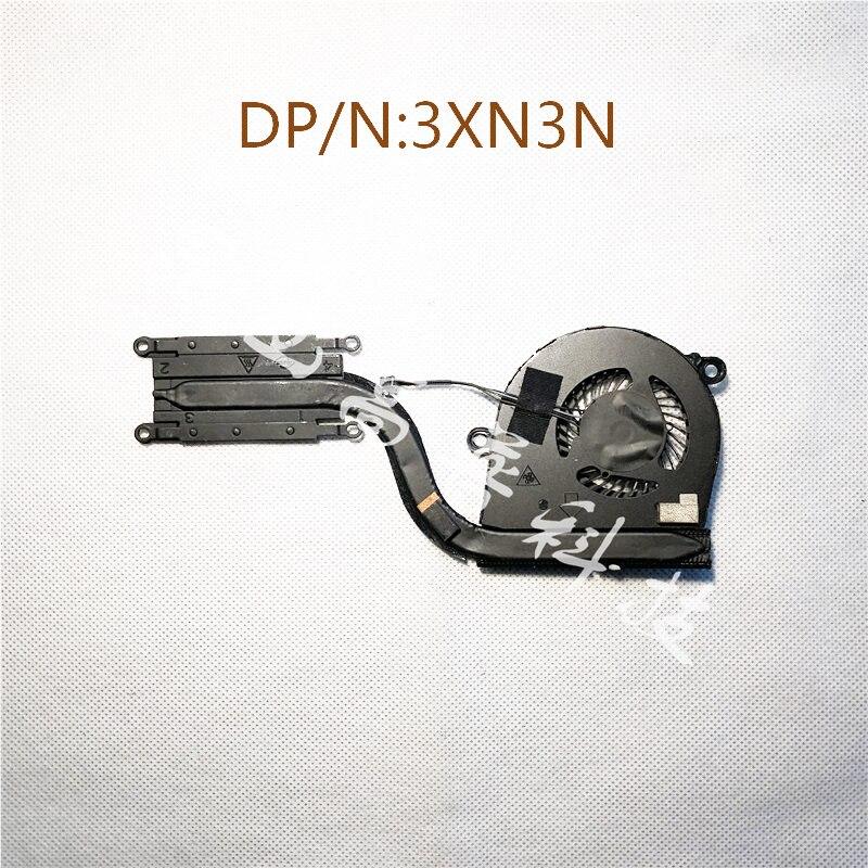 Оригинал для Dell Latitude 5280 E5280 Радиатор вентилятора 3XN3N 03XN3N cn-03XN3N