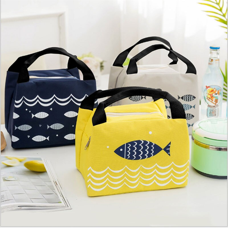 MoneRffi Insulated Picnic Ice Pack Waterproof Lunch Cooler Bag Food Beer Fresh Keep Thermal Cooler Bags Portable School For Kids