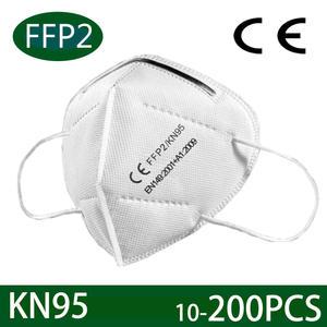 Face-Mask Ventilation Mascarilla Protect Ffp2 KN95 10-200pcs Anti-Pm2.5