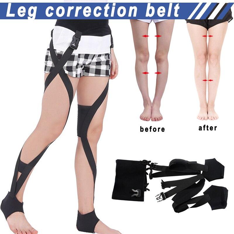 Drop Legs Posture Corrector Comfortable Adjustable Soft O/X Legs Correction Belt Knock Knees Shape Straightening Bandage A7