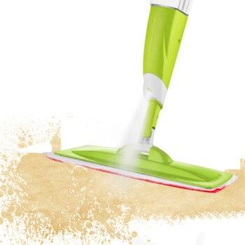 Mop z natryskiem z 3 sztuk ściereczka do czyszczenia głowy połączenie dla drewniane podłogi ceramiczne płytki automatyczne Mop na mokro lub na sucho domowe sprzęty czyszczące