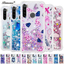 Glitter Dynamic Quicksand Liquid Case For Xiaomi Redmi Note 8 Pro 5A Prime 4 4X K20 Pro 7A 6 6A 5 Plus 4A S2 Mi A2 Lite Cover(China)
