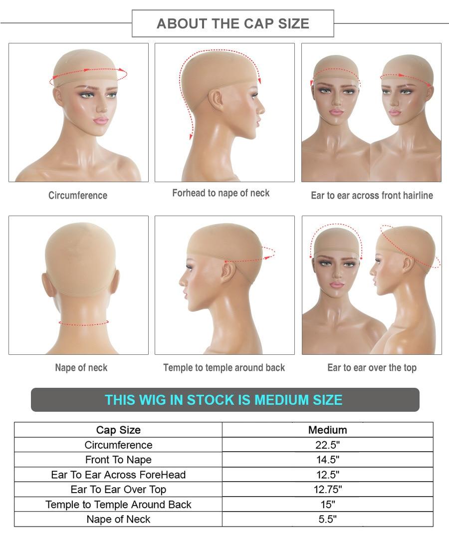 do laço perucas de cabelo humano para