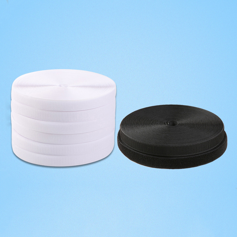 5Meters Nylon Velcro White Black Fabric Hook and Loop Fasteners The Magic Sticker DIY Handmade Craft Sewing Accessories