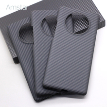 Amstar High End Carbon Fiber Beschermhoes Voor Huawei Mate 40 / Mate 40 Pro / Mate 40 Pro plus Real Carbon Fibe Hard Cover
