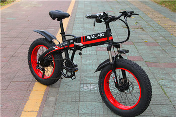 S9F China manufacturer 20 inch e bike 48v 1000w Bafang Motor fatbike 14AH Sam sung battery folding electric bike 2