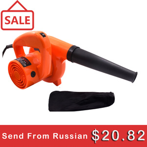 Image 1 - GOXAWEE 220V 6 Speed Electric Air Blower Vacuum Blowing Dust Collector Hand leaf Blower 2 in 1 Fan Computer Cleaner 1.4m Cable